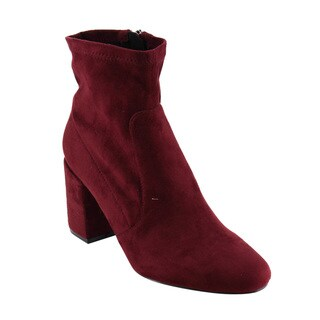Red Booties - Overstock.com Shopping - Trendy, Designer Shoes