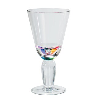 Merritt International 24040 Rainbow Diamond Wine Glass
