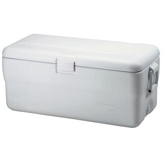 Rubbermaid FG198200TRWHT 102 Quart Marine Ice Chest Assorted Colors