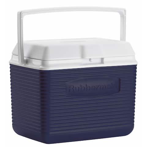 Rubbermaid FG2A1104MODBL 10 Quart Modern Blue Personal Cooler