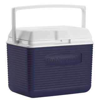 Rubbermaid FG2A1104MODBL 10 Quart Modern Blue Personal Cooler
