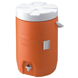 Rubbermaid FG16830111 3 Gallon Orange Water Cooler