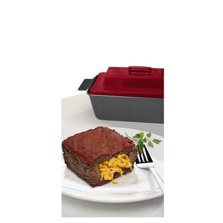 Chef Tony Carbon Steel Stuffed Meatloaf Pan