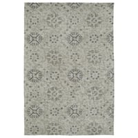 Super Soft Green Prints Microfiber Rug (2'0 x 3'0) - 2' x 3'