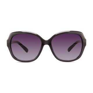 Christian Siriano Kate Women's Grey and Purple Sunglasses