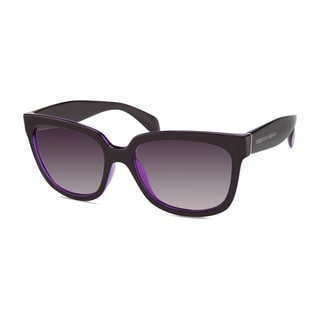 Christian Siriano Edie Women's Purple Sunglasses