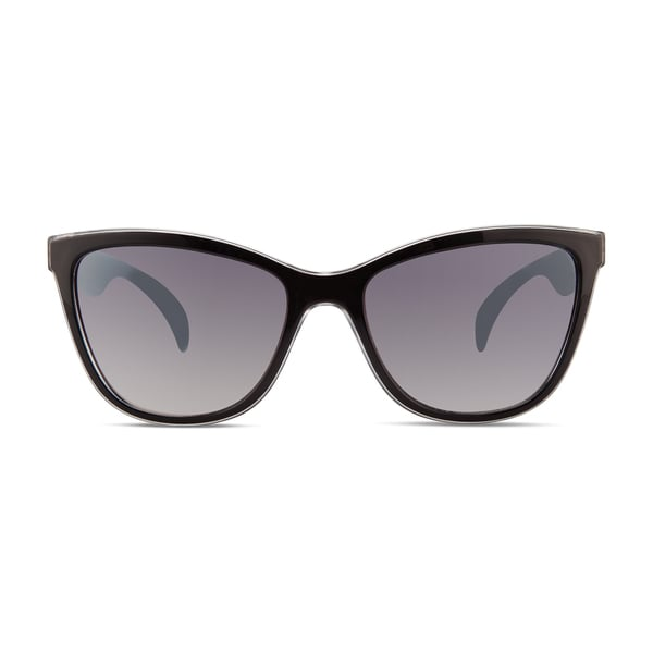 30e16dcf8 Shop Christian Siriano Cara Women's Black/Grey Sunglasses - Free Shipping  On Orders Over $45 - Overstock - 12913295