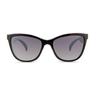 Christian Siriano Cara Women's Black/Grey Sunglasses