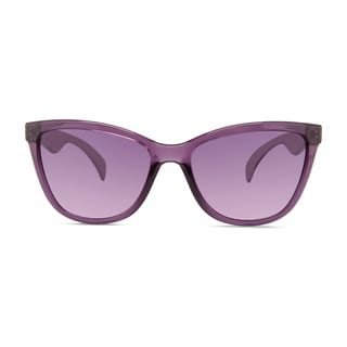 Christian Siriano Cara Women's Purple Rose Plastic Sunglasses
