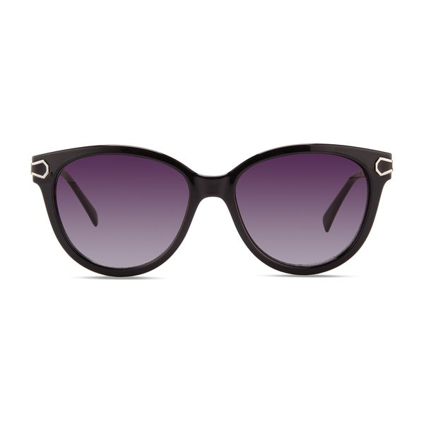 c091b7a6e Shop Christian Siriano Joan Women's Black/Purple Sunglasses - Free ...