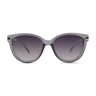 Christian Siriano Joan Women's Grey Plastic Full-frame Sunglasses