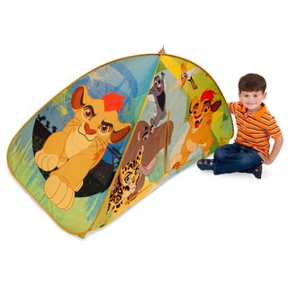 Play Hut Lion Guard Multicolor Polyester 2-in-1 Bed Tent