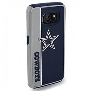 Forever Collectibles Dallas Cowboys TPU Rugged Dual-hybrid Case for Samsung Galaxy S7