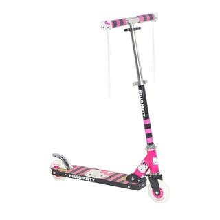 Hello Kitty Black and Pink Light-up Folding Scooter|https://ak1.ostkcdn.com/images/products/12914445/P19669549.jpg?impolicy=medium