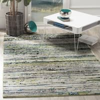 Safavieh Porcello Modern Cream/ Green Rug - 2'7 x 5'