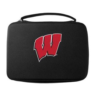 Siskiyou NCAA Wisconsin Badgers Black Sports Team Logo GoPro Carrying Case
