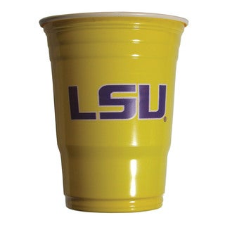 NCAA LSU Tigers Sports Team Logo Plastic Game Day Cups