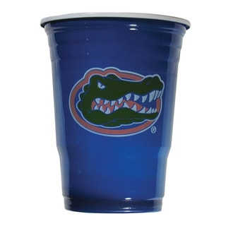 NCAA Florida Gators Sports Team Logo Plastic Game Day Cups