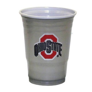 NCAA Ohio St. Buckeyes Sports Team Logo Plastic Game Day Cups