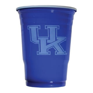 NCAA Kentucky Wildcats Sports Team Logo Plastic Game Day Cups