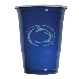 NCAA Penn State Nittany Lions Sports Team Logo Plastic Game Day Cups