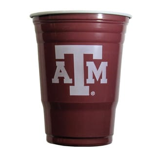 NCAA Texas A&M Aggies Plastic Game Day Cups (Case of 18)