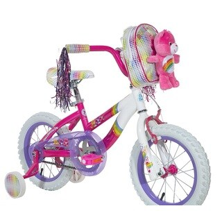 Dynacraft 'Care Bears' Pink Steel 14-inch Bike