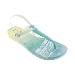 Ish Women's Coastline Blue and White Sandals