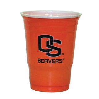 NCAA Oregon State Beavers Sports Team Logo Plastic Game Day Cups