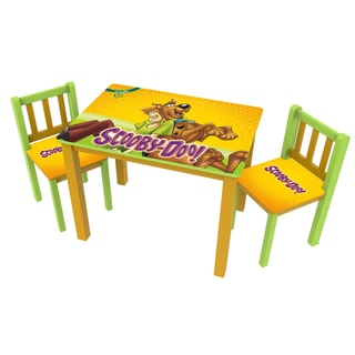 Scooby Doo Large Table and Chairs Set