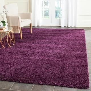 Safavieh Santa Monica Shag Purple Rug (5' x 8')
