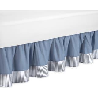 Sweet Jojo Designs Come Sail Away Toddler-size Bedskirt