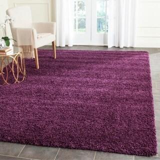 Safavieh Santa Monica Shag Purple Rug (10' x 13')