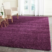 Safavieh Santa Monica Shag Purple Rug - 7' x 10'