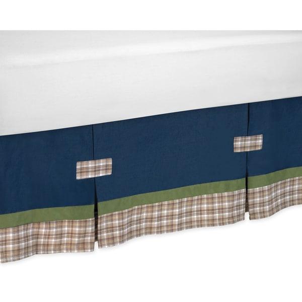 Sweet Jojo Designs Construction Zone Toddler Bed Skirt