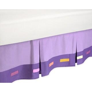 Sweet Jojo Designs Danielle's Daises Toddler-size Bedskirt