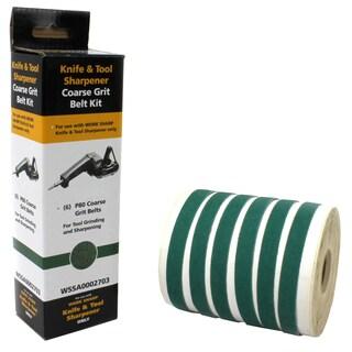 Drill Doctor Work Sharp WSSA0002703 80 Grit Belt Kit