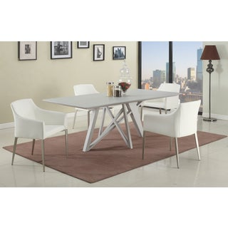 Christopher Knight Home Kathy White Dining Set