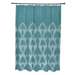 Superior Watermark Geometric Print Shower Curtain