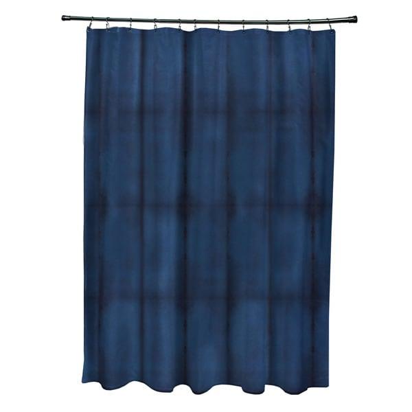 Pool Stripe Print Shower Curtain