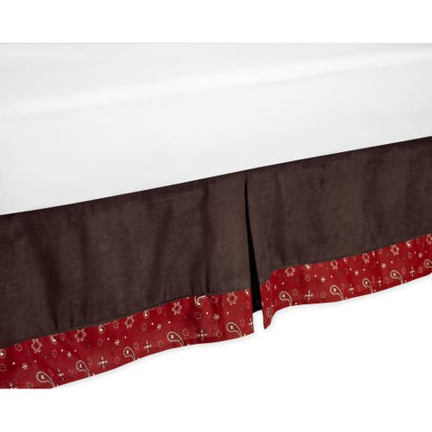 Sweet Jojo Designs Wild West Queen-size Bedskirt