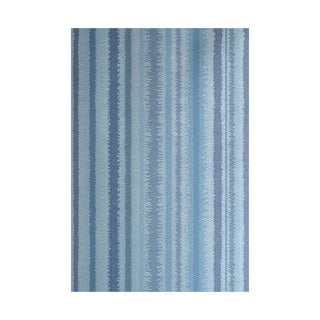 Raya De Agua Stripe Print Indoor, Outdoor Rug (5' x 7')