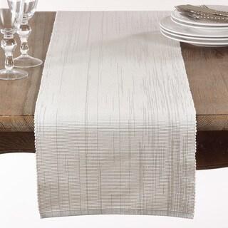 Shimmering Woven Cotton Table Runner
