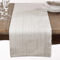 Shimmering Woven Cotton Table Runner