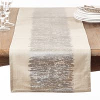 Metallic Banded Table Runner