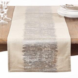 Metallic Banded Table Runner
