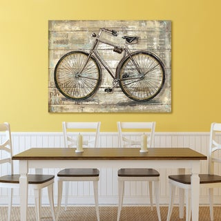 Portfolio Canvas Decor Sandy Doonan 'Wheels III' Stretched and Wrapped Canvas Print Wall Art