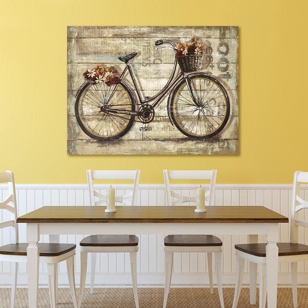 Portfolio Canvas Decor Sandy Doonan 'Wheels II' Canvas Print Wall Art