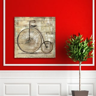 Portfolio Canvas Decor Sandy Doonan 'Wheels I' Gallery-wrapped and Stretched Canvas Wall Art