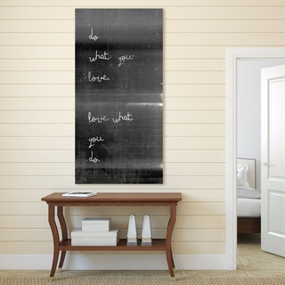 Portfolio Canvas Decor IHD Studio 'Do What You Love' Black/White Canvas Print Wall Art